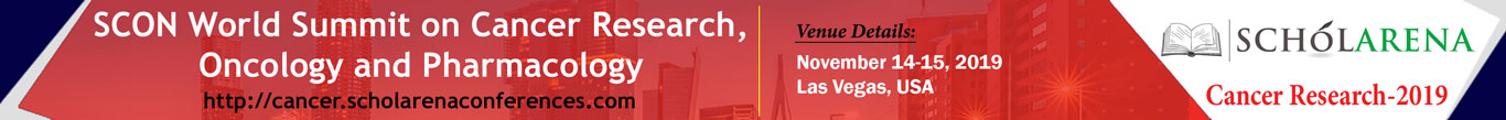 SCON World Summit on Cancer Research, Oncology and Pharmacology