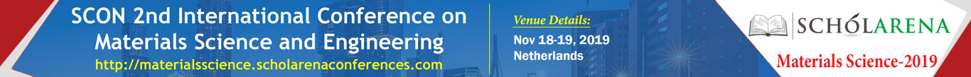 SCON 2nd International Conference on Materials Science and Engineering